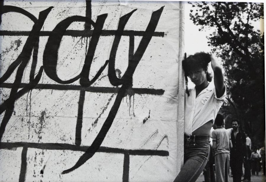 Agustín Martínez Castro, Piratas en el boulevard. Irrupciones públicas, 1978-1988. Cortesía: Centro de la Imagen, Ciudad de México, 2018