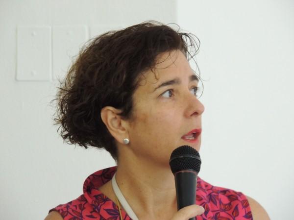 Arianne Vanrell Vellosillo, conservadora-restauradora del Departamento de Conservación-Restauración del Museo Nacional Centro de Arte Reina Sofía en Madrid, España. Cortesía: Galería Gabriela Mistral