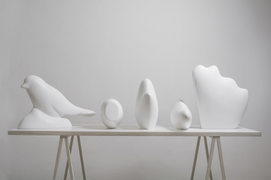 Elba Bairon, Sin Título, 2017, escultura. Cortesía: Galería Nora Fisch, Buenos Aires