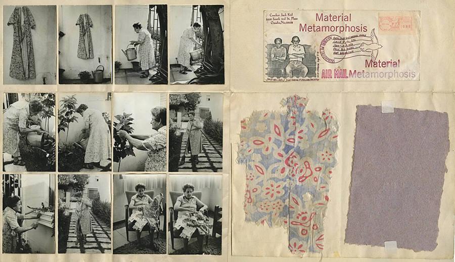 Graciela Gutiérrez Marx, Material Metamorphosis, 1981, técnica mixta, 44 x 73 cm. Cortesía: Walden, Buenos Aires