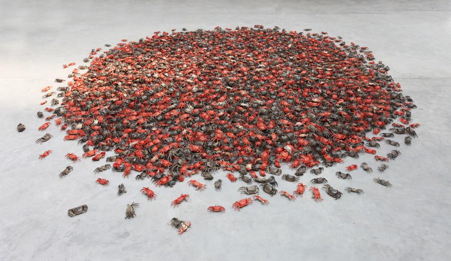 Ai Weiwei, He Xie (Cangrejo), 2011. Cortesía: Ai Weiwei Studio