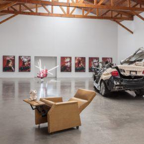 Vista de la exposición Dame Zero en galería kurimanzutto, Ciudad de México, 2018. Cortesía de la artista y kurimanzutto, Ciudad de México. Foto: Omar Luis Olguín