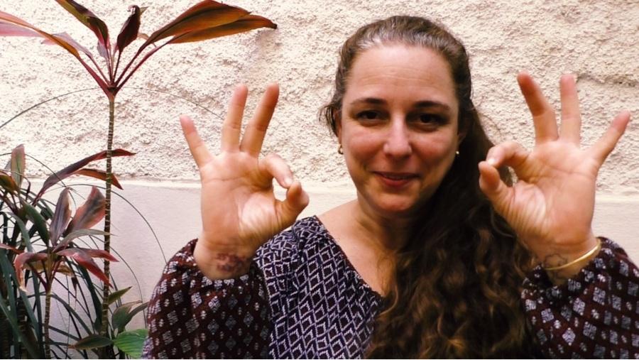 Tania Bruguera en su apoyo a la #00Bienal de La Habana