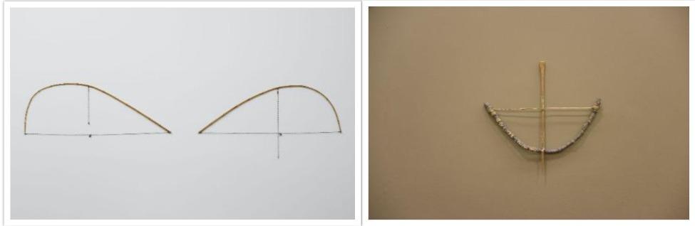 Razão/Loucura, de Cildo Meireles, y Arco e Flecha, de Arthur Bispo do Rosário. Cortesía: SESC Pompeia