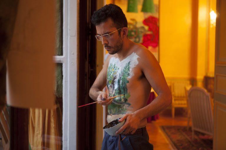 Santiago Reyes, Push up the frame, 2011. Foto: Sébastien Dolidon. Imagen cortesía del artista.