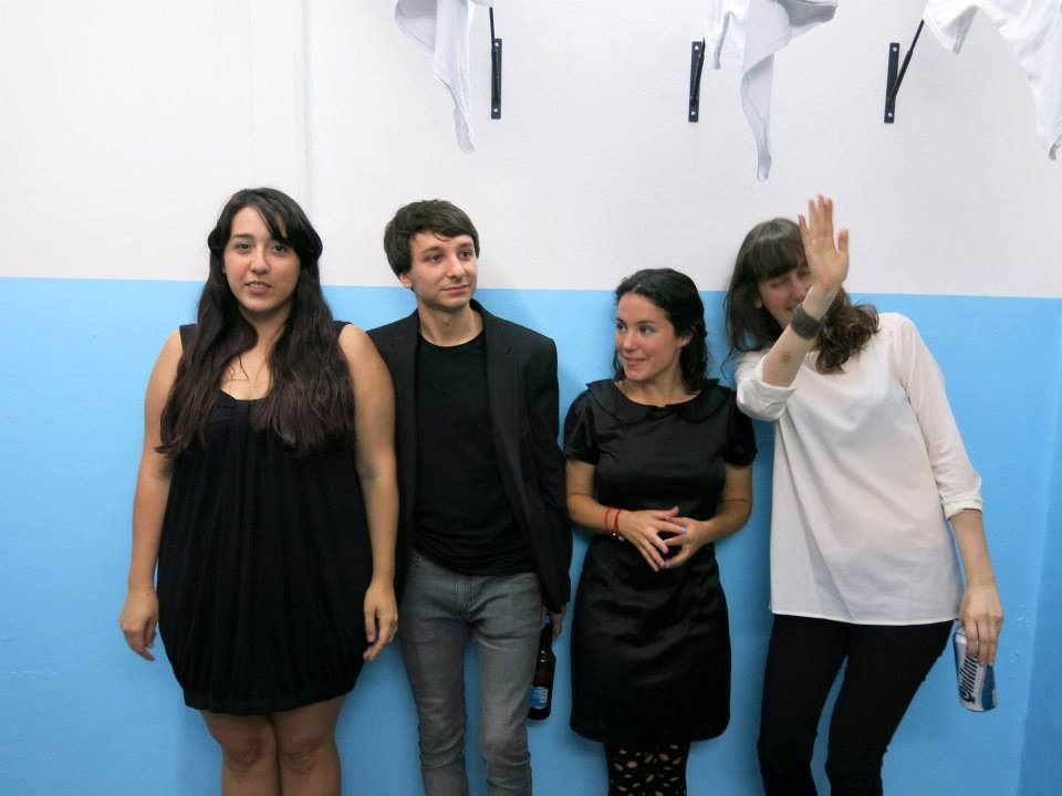 La Ene. Marina Reyes Franco, Santiago, Villanueva, Gala Berger y Sofía Dourron. Cortesía: La Ene