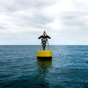 Adrián Balseca, Mar Cerrado, 2016, proyecto para sitio específico, video monocanal. Cortesía del artista