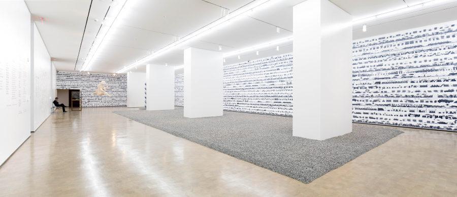 """Vista de la exposición """"Inoculación"""", de Ai Weiwei, en el Centro de las Artes 660 (CA660) de Fundación CorpArtes, Santiago de Chile, 2018. Foto: Benjamín Matte"""