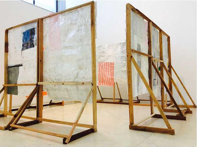 """Vista de la exposición """"Otras formas indeterminadas"""", de Esmelyn Miranda, en la Sala Mendoza, Caracas, 2018. Foto cortesía Sala Mendoza"""