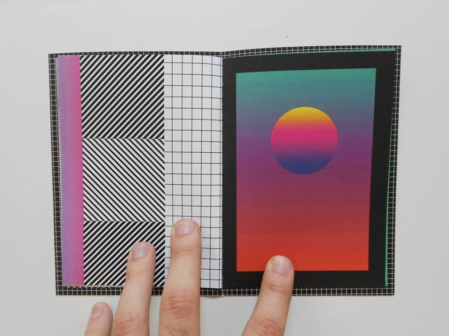 Escape Zine, de Sao Paulo, Brasil, es parte de la feria de arte impreso Microutopías, que se celebra en el CCE de Montevideo entre el 8 y 10 de junio de 2018