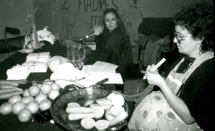 Polvo de Gallina Negra (Maris Bustamante y Mónica Mayer), ¡Madres!, proyecto visual, 1983- 1987. Cortesía: Archivo Mónica Mayer