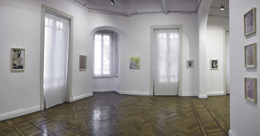 """Vista de la exposición """"Seed for planting"""", de Koak, en Walden Gallery, Buenos Aires, 2018. Cortesía de la galería"""