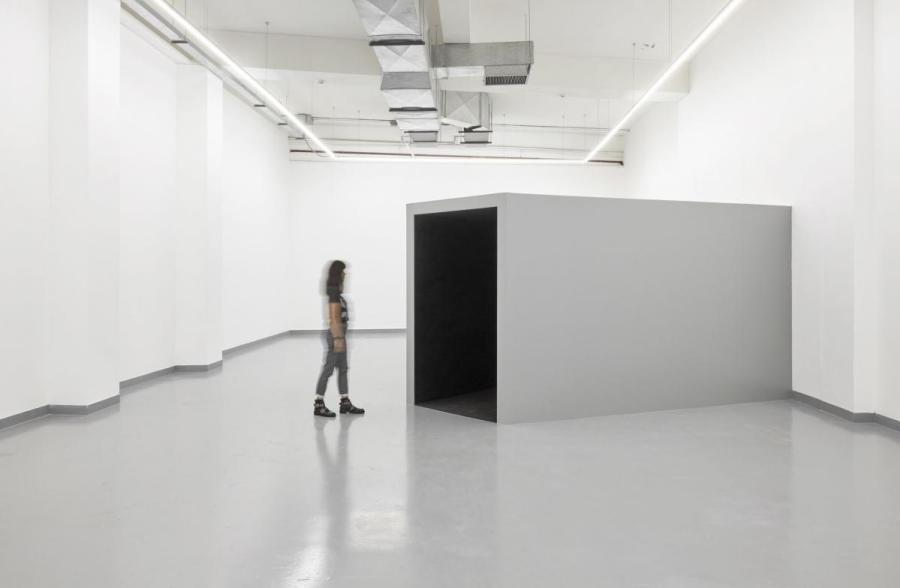 """Vista de la exposición """"Horror Vacui"""", de David Zink Yi, en Proyecto AMIL, Lima, 2018. Foto cortesía de Proyecto AMIL"""