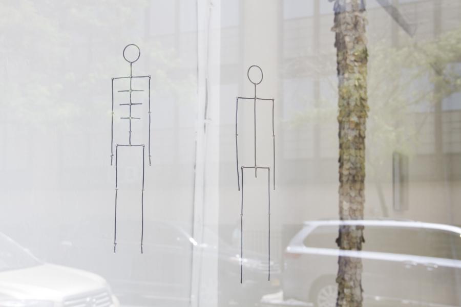 """Vista de la exposición """"Still Life with Others"""", de Andrés Bedoya, en la galería Situations de Nueva York, 2018. Cortesía de la galería"""