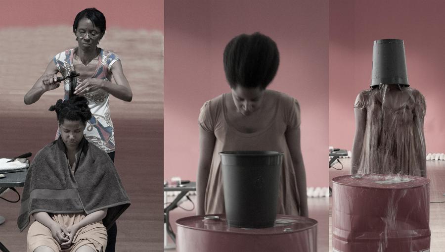 Susana Pilar Delahante, stills del video El Tanque, 2016, Milán, Italia. Cortesía de la artista