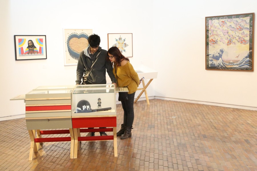 """Vista de la exposición """"El arte de la desobediencia"""", Museo de Arte Moderno de Bogotá (MAMBO), 2018. Cortesía: MAMBO"""