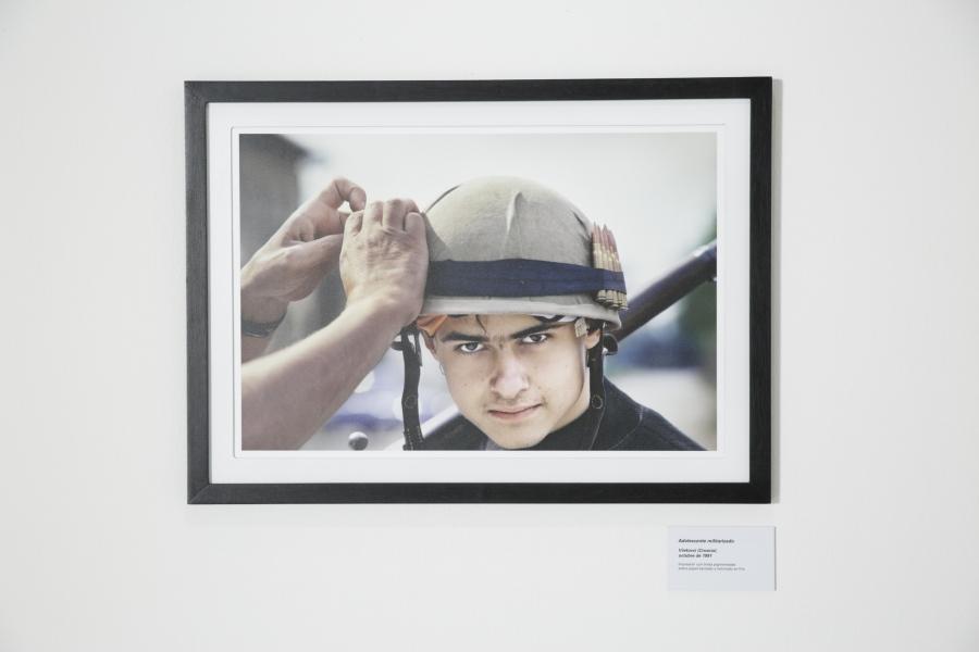 Gervasio Sánchez, Vida. Cortesía: Bienal de Arte Paiz, 2018