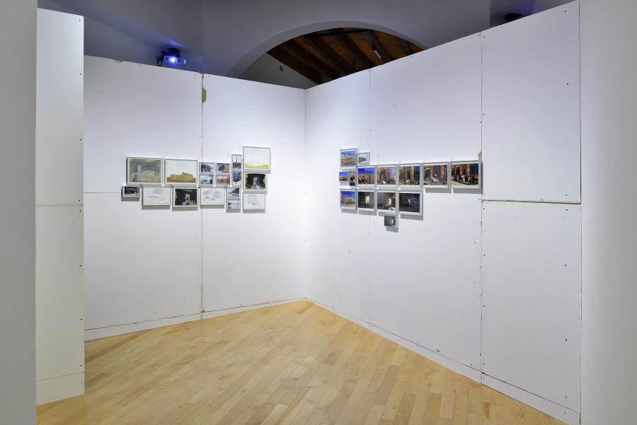 """Vista de la exposición """"Obra inconclusa"""", de Tercerunquinto, en el Museo Amparo, Puebla, México, 2018. Cortesía: Museo Amparo"""