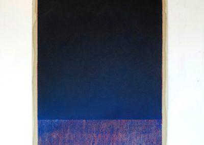 Catalina Valenzuela Reymond, de la serie Materia, 2018, pastel seco sobre papel, 76 x 56 cm. Cortesía de la artista