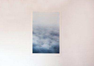 Catalina Valenzuela Reymond, de la serie Nubes, 2017, pastel seco sobre papel, 56 x 38 cm. Cortesía de la artista
