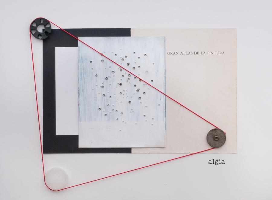 Luis Romero, Algia, 2018, composición en técnica mixta. Foto cortesía del artista y Beatriz Gil Galería, Caracas