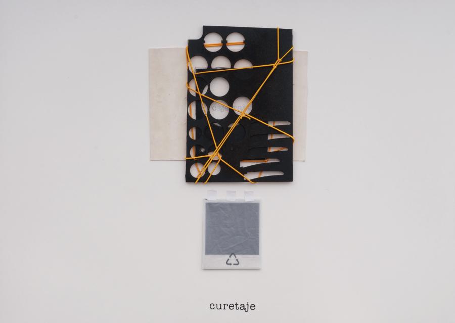 Luis Romero, Curetaje, 2018, composición en técnica mixta. Foto cortesía del artista y Beatriz Gil Galería, Caracas