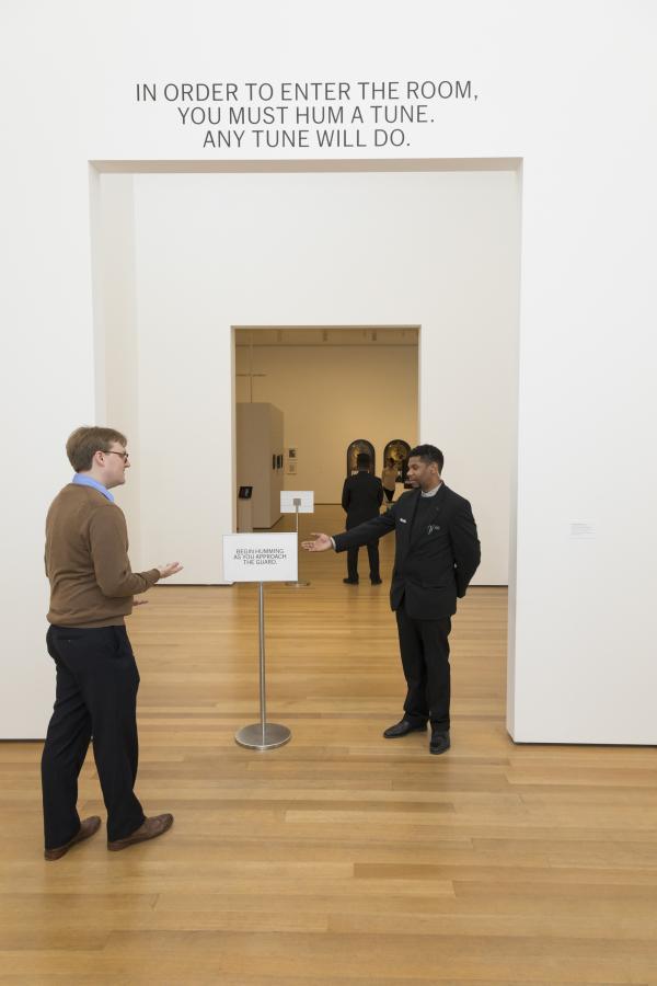 "Vista de la exposición ""Adrian Piper: A Synthesis of Intuitions, 1965–2016"", en el Museum of Modern Art (MoMA), Nueva York, 2018. © 2018 The Museum of Modern Art. Foto: Jonathan Muzikar."