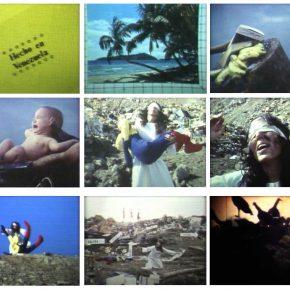 Carlos Castillo, Hecho en Venezuela, 1977, stills de video. Cortesía Carmen Araujo Arte, Caracas