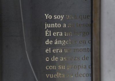Gaspar Alvarez, La ley del tesoro (kintsugi), 2018, técnica mixta, dimensiones variables. Foto: Rodrigo Maulén