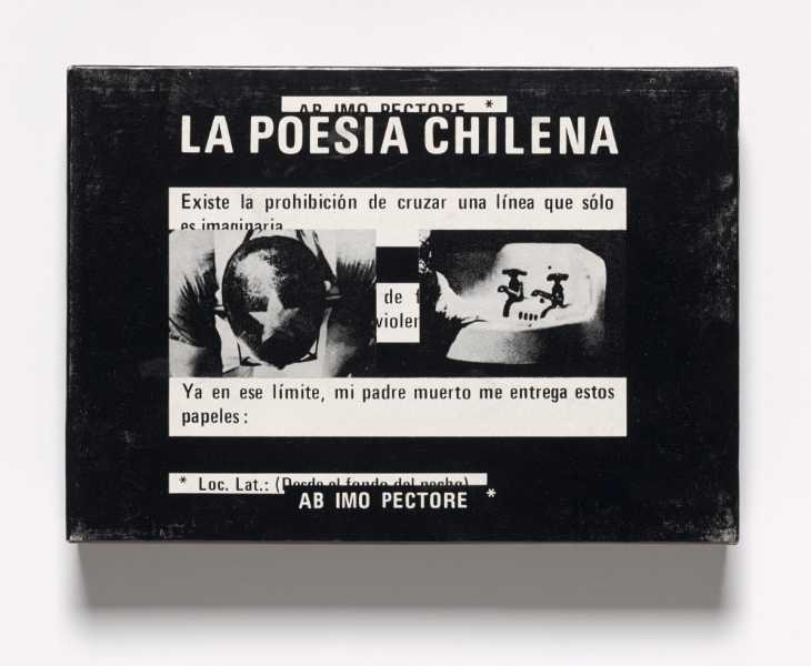 Juan Luis Martínez, La Poesía Chilena, 1978, libro-objeto.