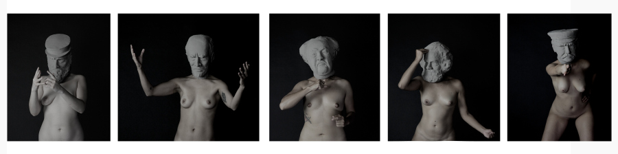Deborah Castillo, Las dictadoras, 2017, stills de video. Cortesía de la artista y MACG, Ciudad de México