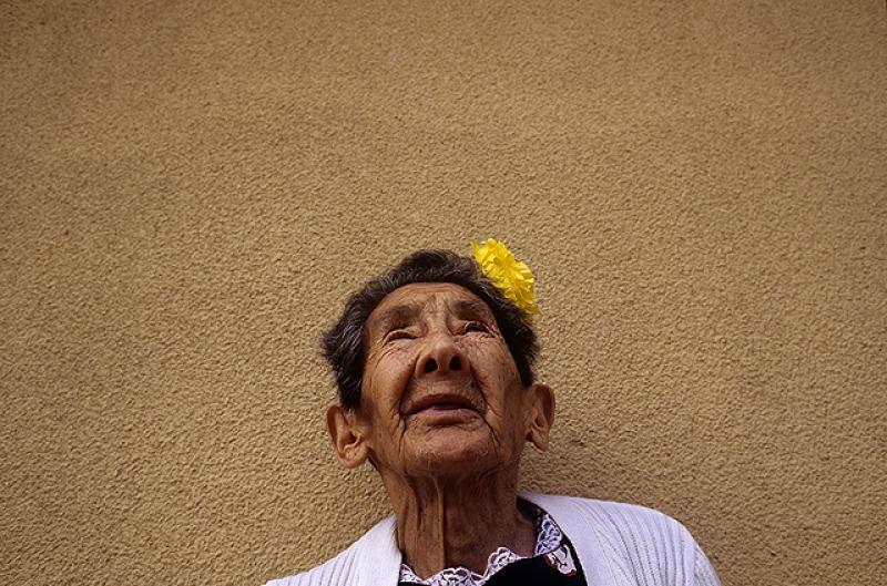 """Fotografía de Paz Errázuriz que podrá verse en la muestra """"Tormentas"""", en Concepción, Chile. Cortesía de la artista"""