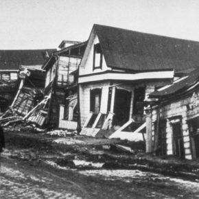 Valdivia (Chile) tras el terremoto de 1960