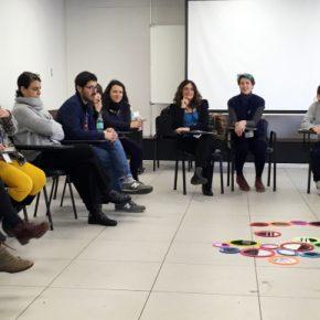 Uno de los workshops desarrollados durante el Congreso InSEA Chile 2018. Foto: Alejandra Rojas Contreras