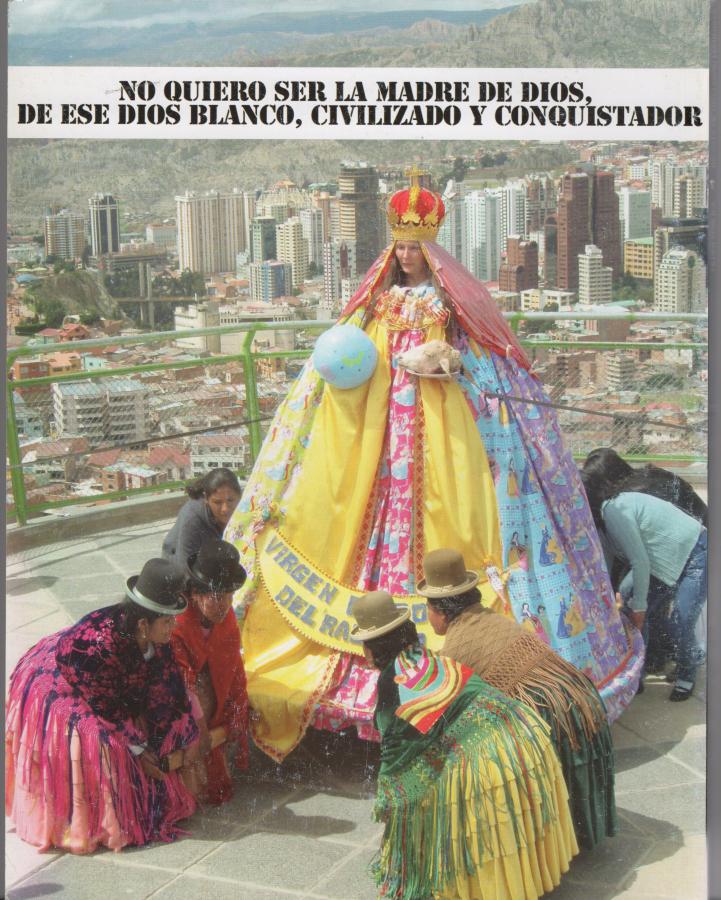 Mujeres Creando. La Virgen Barbie, 2010. Cortesía de Mujeres Creando
