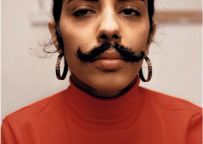 Ana Mendieta, Untitled (Facial hair transplant), 1972. Cortesía: Alison Jacques Gallery