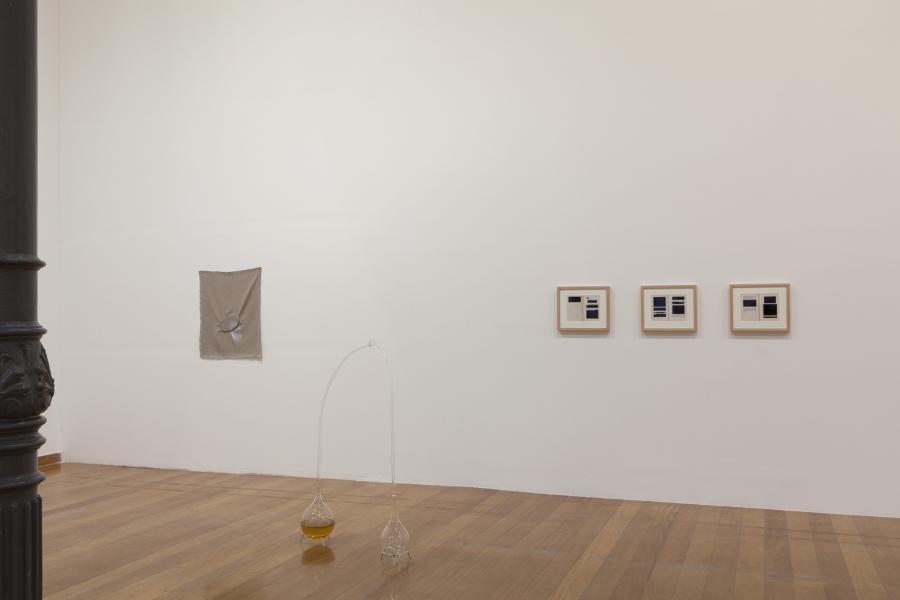 """Vista de la exposición """"Entrementes"""", de Valeska Soares, en Pina Estação, de la Pinacoteca de São Paulo, 2018. Cortesía: Pinacoteca"""