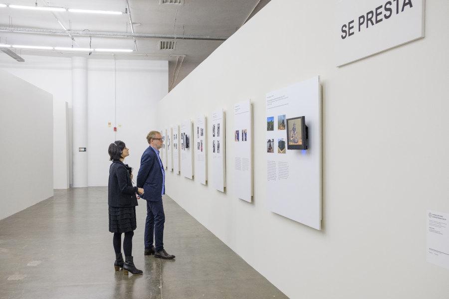 Vista de la exposición de Aníbal López en la 33° Bienal de São Paulo. Foto: © Leo Eloy/Estúdio Garagem/Fundação Bienal de São Paulo.