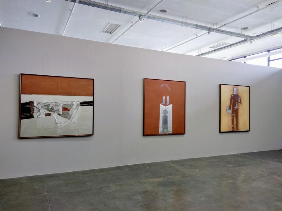 Vista de la exposición de Siron Franco en la 33° Bienal de São Paulo. Foto: Alejandra Villasmil