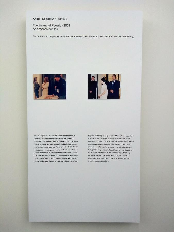 Vista de la exposición de Aníbal López en la 33° Bienal de São Paulo. Foto: Alejandra Villasmil