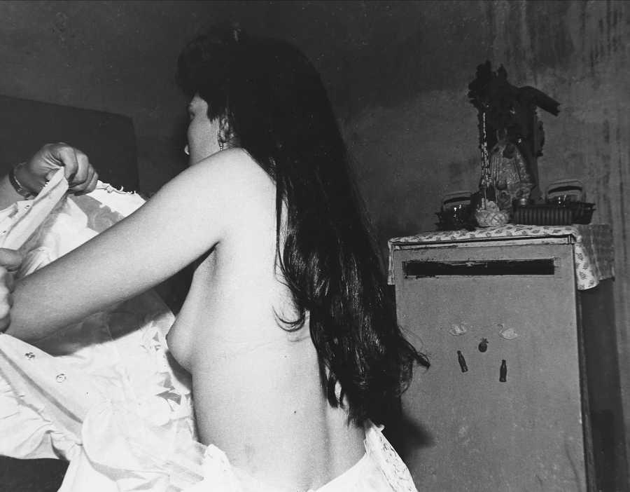 Kattia García, La boda, 1989. Cortesía de la artista