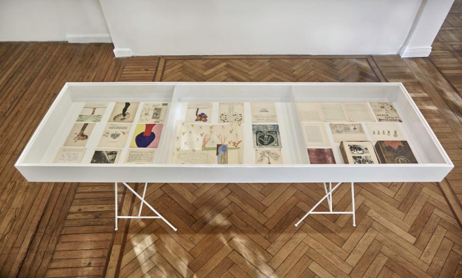 """Vista de la exposición """"Composición de lugar"""", en Walden Gallery, Buenos Aires, 2018. Cortesía de la galería"""