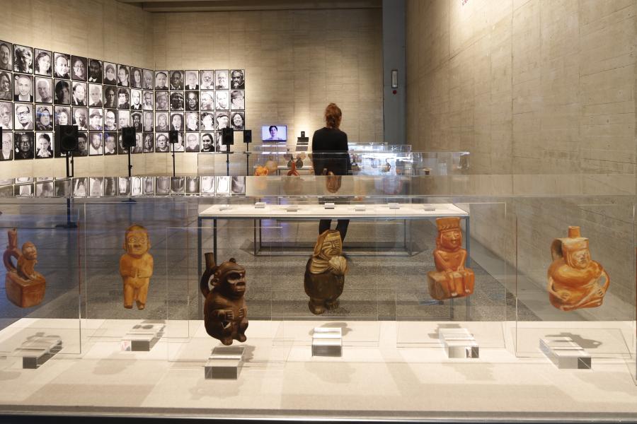 Todos los tonos de la rabia. Poéticas y políticas antirracistas. Vista de la exposición en MUSAC, Museo de Arte Contemporáneo de Castilla y León. Septiembre 2018