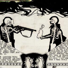 Vista del mural