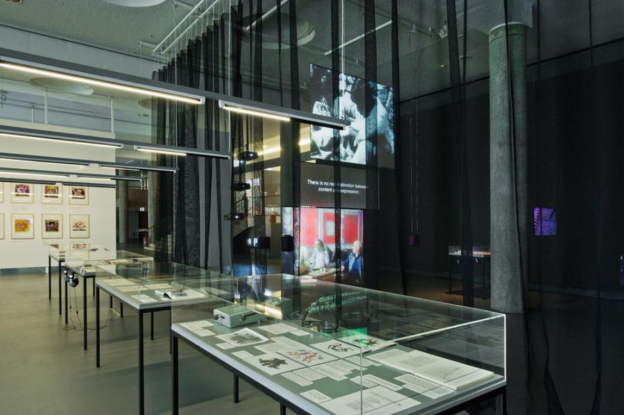 Vista de la exposición Animism, 2012, en Haus der Kulturen der Welt (HKW), Berlín. Foto: © Arwed Messme/ HKW