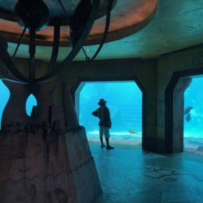Vista del acuario de Atlantis en Paradise Island. Foto: Maria Reyes Franco
