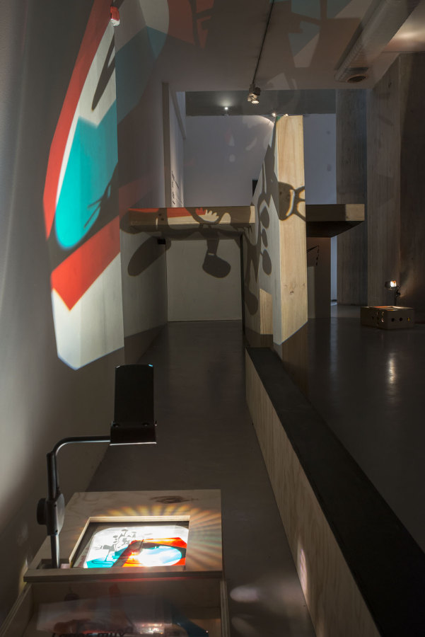"Vista de la exposición ""Alegoría del miedo/Bogotá"", de Rivane Neuenschwander, en NC-arte, Bogotá, 2018. Foto: Oscar Monsalve. Cortesía: NC-arte"