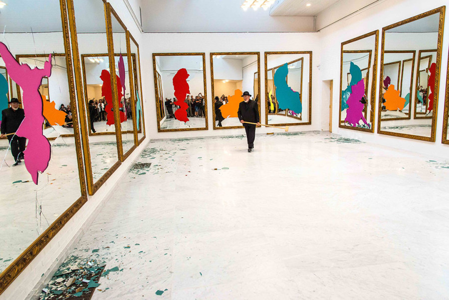 Michelangelo Pistoletto, Eleven Less One 1, 2, 3 e 4, Aalborg - Kunsten Museum 2016. Cortesía del artista y Galleria Continua San Gimignano / Beijing / Les Moulins / La Habana