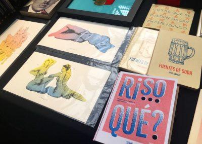 Ojoporojo Editorial y Tienda de Diseño (Chile). Vista del stand en Impresionante, MAC, Santiago de Chile, 2018. Foto: Nicolás Narváez