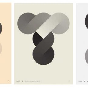 Alejandra Valenzuela, Loop, tres láminas de 31 x 42 cm, impresión en risografía a un color. Edición de 35. Cortesía de la artista